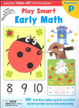 Play Smart Early Math Workbook