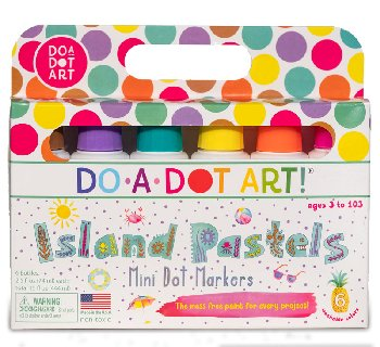 Mini Dot & Doodles Island Brights