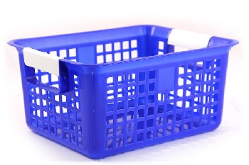 Book Basket - Blue