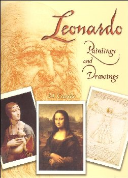 Leonardo Paintings & Drawings 24 postcards
