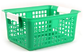 Book Basket - Green