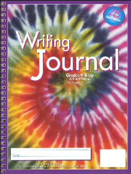 Writing Journal - Swirling Tie-Dye - Grade 4-Up