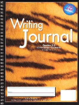 Writing Journal - Tiger - Grades 2-3
