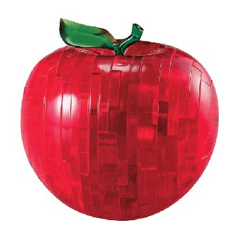 Clearly Puzzled - 3D Apple Puzzle (Assortment)