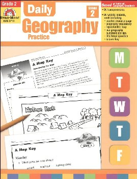 Daily Geography Practice Gr. 2