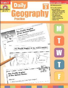 Daily Geography Practice Gr. 3