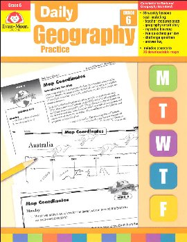Daily Geography Practice Gr. 6