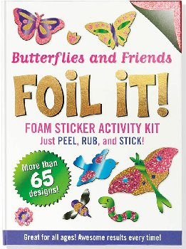 Butterflies and Friends Foil It! Foam Sticker Activity Kit
