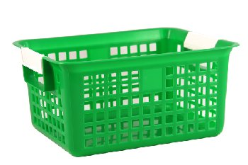 Letter Basket - Green