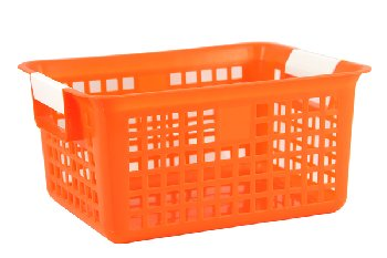 Letter Basket - Orange