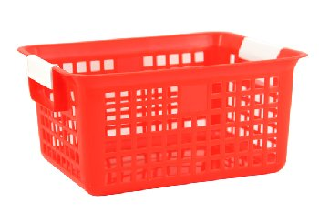 Letter Basket - Red