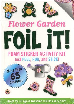 Flower Garden Foil It! Foam Sticker Activity Kit