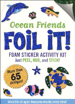 Ocean Friends Foil It! Foam Sticker Activity Kit