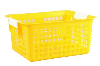 Letter Basket - Yellow