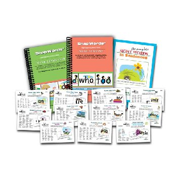 SnapWords Pocket Chart Cards - 607 Snapwords