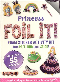 Princess Foil It! Foam Sticker Activity Kit