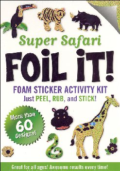 Super Safari Foil It! Foam Sticker Activity Kit
