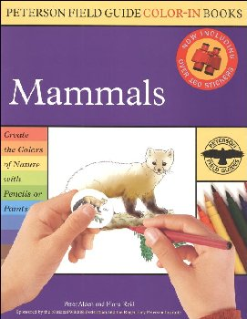 Peterson Field Guide Color-in Book: Mammals