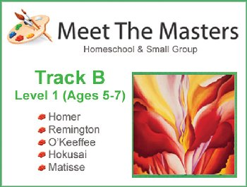 Meet the Masters @ Home Art Program Track B 5-7