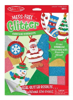Christmas Ornaments Mess-Free Glitter Kit