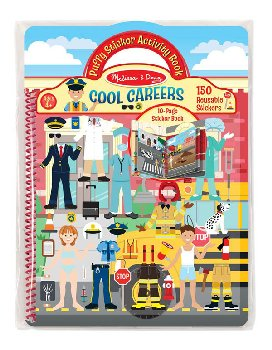 Cool Careers Puffy Sticker Activity Book
