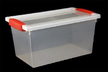Snap Handle Tote 5 Quart - Clear