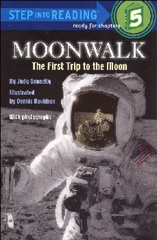 Moonwalk: First Trip to the Moon (Step 5 read