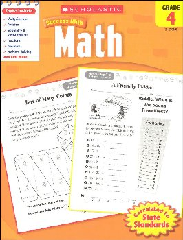 Math Grade 4 (Scholastic Success With)