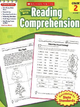 Reading Comprehension Gr 2 (Scholastic Success With)