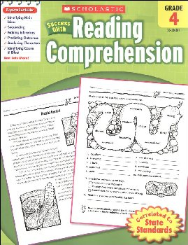 Reading Comprehension Gr 4 (Scholastic Success With)