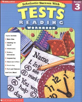 Reading Tests Grade 3 (Scholastic Success With)