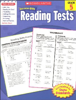 Reading Tests Grade 5 (Scholastic Success Wit