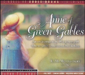 Anne of Green Gables Radio Theatre 3 CDs