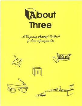 About Three Beginner's Activity Book