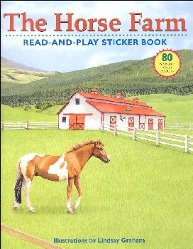 Horse Farm Read-&-Play Sticker Book