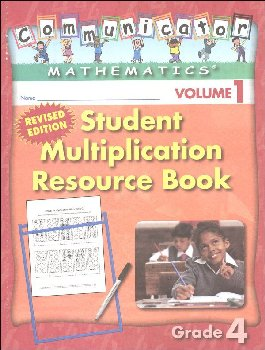 Student Multiplication Resource Book Grade 4 Volume 1