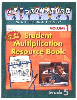 Student Multiplication Resource Book Grade 5 Volume 1