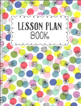 Year-Long Lesson Plan Book - Color Pop