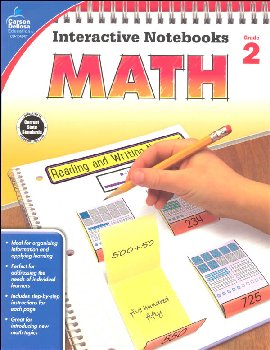 Interactive Notebooks: Math - Grade 2