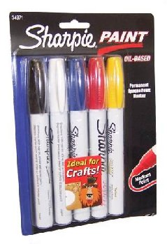 Sharpie Paint Medium Point Set of 5 (Assorted Colors)