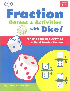 Fraction Games & Activities with Dice!