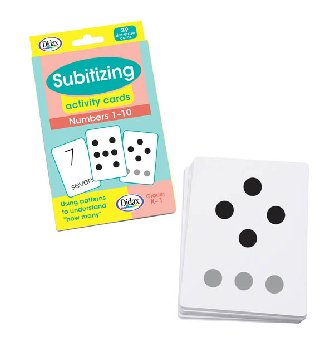 Subitizing Activity Cards: Numbers 1-10