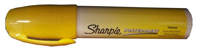 Sharpie Poster-Paint X-Bold Point Yellow