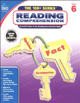 Reading Comprehension - Grade 6 (100+ Series)
