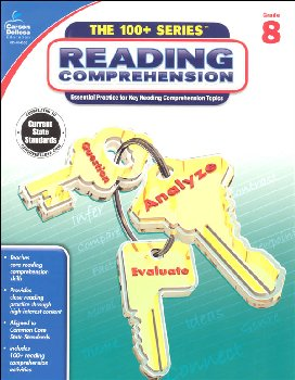 Reading Comprehension - Grade 8 (100+ Series)