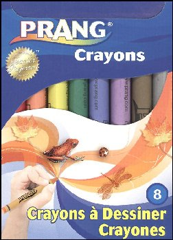 Prang Crayons 8 Colors Set