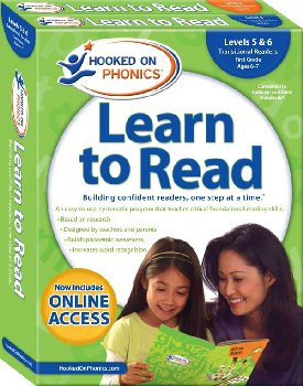 Hooked on Phonics Learn to Read Levels 5 & 6 - First Grade