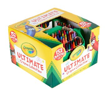 Crayola Crayons 152 Count Box