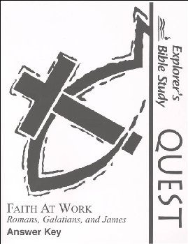 Quest: Faith at Work Answer Key
