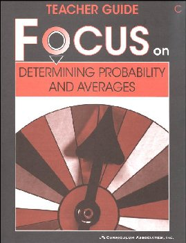 Determining Probability and Averages Teacher Guide C